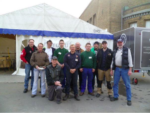 Das Nordhuf Team auf einem Bild